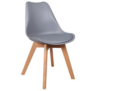 Viktor design Stoelen | Moderne, basic stoelen met ultiem zitcomfort grijs