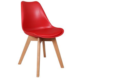 Viktor design Stoelen | Moderne, basic stoelen met ultiem zitcomfort rood