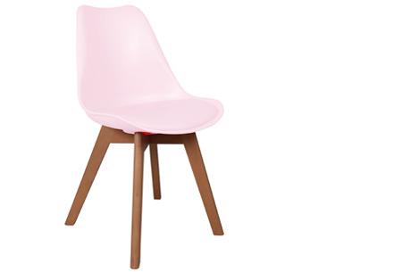 Licht Roze Stoel : Margot bureaustoel lichtroze fluweel en koper in teenage
