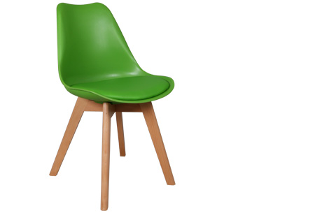 Viktor design Stoelen | Moderne, basic stoelen met ultiem zitcomfort groen