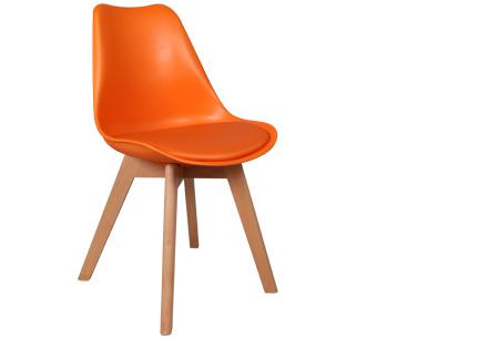 Viktor design Stoelen | Moderne, basic stoelen met ultiem zitcomfort oranje