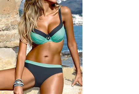 Beauty Beach bikini | Keuze uit 7 kleuren #1 Uni blue