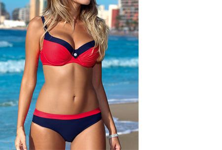 Beauty Beach bikini | Keuze uit 7 kleuren #3 Uni red