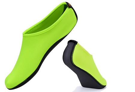 Watersokken met anti-slip zool | Bescherm je voeten  Geel