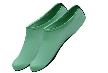 Watersokken met anti-slip zool | Bescherm je voeten  Mintgroen