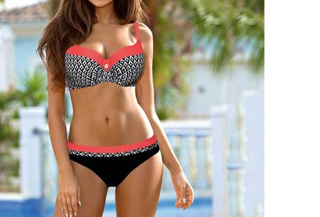 Pattern Chique bikini | Verkrijgbaar in 9 kleuren - Voor een ultieme zomerlook #3 Aztec watermelon