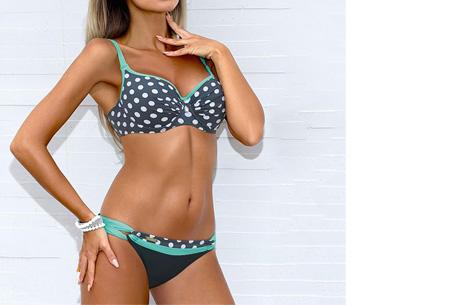 Pattern Chique bikini | Verkrijgbaar in 9 kleuren - Voor een ultieme zomerlook #5 Dots blue