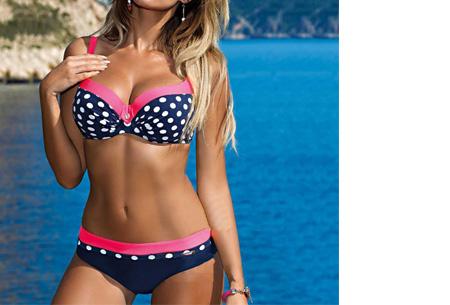 Pattern Chique bikini | Verkrijgbaar in 9 kleuren - Voor een ultieme zomerlook #6 Dots fuchsia