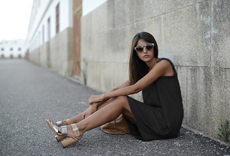 Oversized chiffon jurk | Luchtig en stijlvol