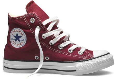 Converse All Stars Maat 42,5 - Bordeaux - Hoog