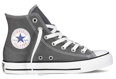 Converse All Stars outlet - hoog of laag model | MEGA UITVERKOOP, OP=OP! Grijs - hoog