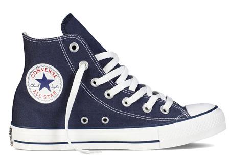 Converse All Stars outlet - hoog of laag model | MEGA UITVERKOOP, OP=OP! Navy - hoog