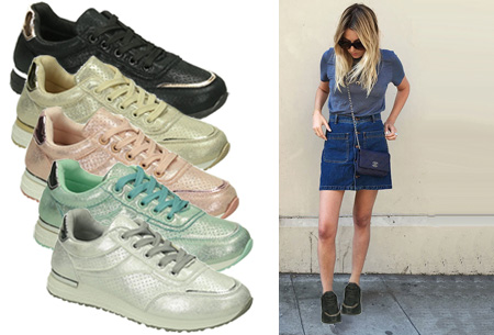 Summer Glam sneakers in de aanbieding