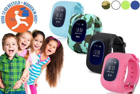 Dagaanbieding: GPS tracker kinderhorloge nu met korting!