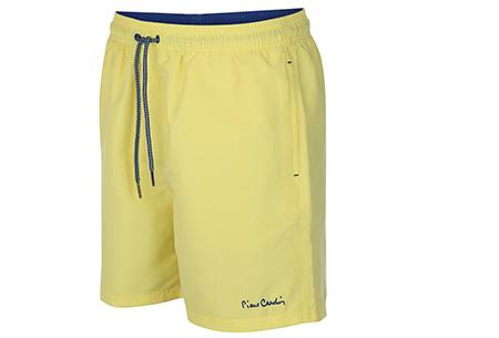 Pierre Cardin zwembroeken | Verkrijgbaar in 8 kleuren  Geel