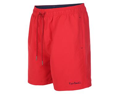 Pierre Cardin zwembroeken | Verkrijgbaar in 8 kleuren  Rood