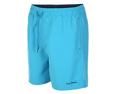Pierre Cardin zwembroeken | Verkrijgbaar in 8 kleuren  Turquoise
