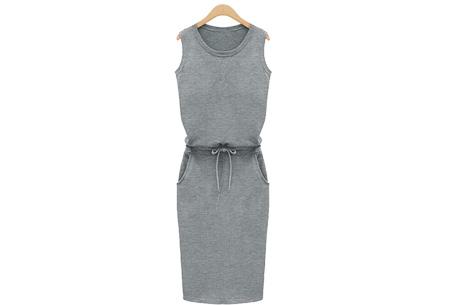 Comfi dress | Stijlvolle en comfortabele jurk in één! Grijs