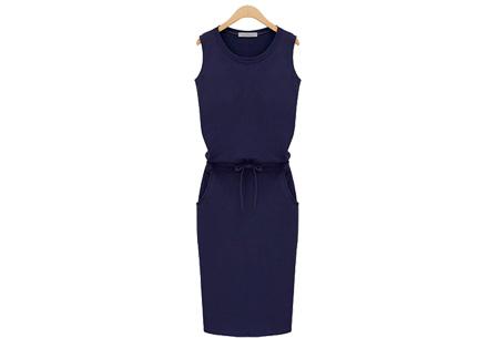 Comfi dress | Stijlvolle en comfortabele jurk in één! Navy