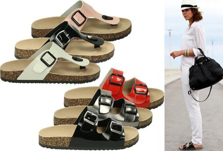 Buckle up sandalen