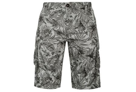 Pierre Cardin korte broeken | 100% katoen en verkrijgbaar in maat S t/m 2XL  Flower grijs