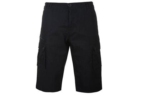 Pierre Cardin korte broeken   Heren shorts van 100% katoen nu in de sale zwart