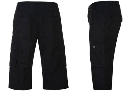 Pierre Cardin korte broeken   Heren shorts van 100% katoen nu in de sale