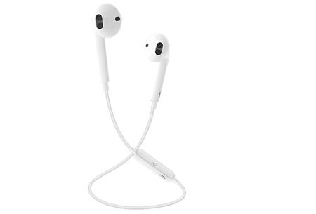 Draadloze Bluetooth oordopjes met handsfree bellen | Geen vervelende snoeren meer! wit