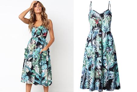 Button jurk Maat M - #L
