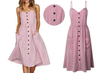 Button jurk | Keuze uit 18 prachtige prints of effen kleuren! Maten S t/m 3XL #Q