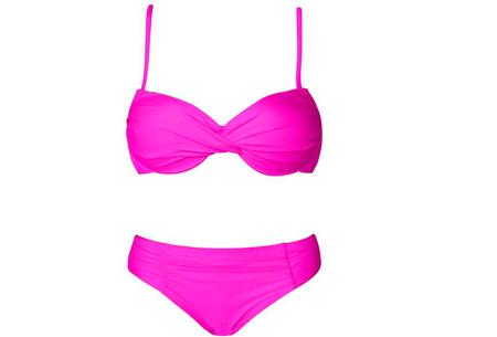 Flawless bikini - Maat L - Roze