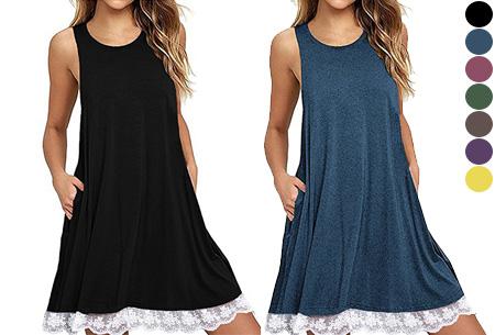 Lace dress in de aanbieding