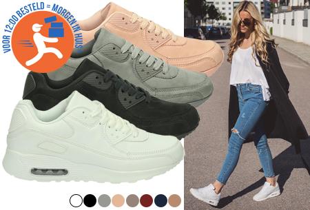 FlexAir suède look sneakers   Met een ultieme demping & optimaal comfort   36 t/m maat 42