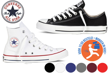 Converse All Stars hoog of laag model
