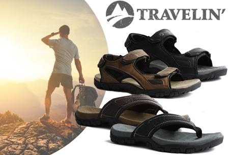 Travelin slipper & sandaal voor heren in de aanbieding