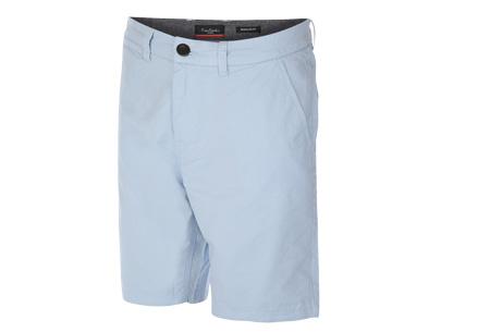 Pierre Cardin korte broeken | Trendy Chino shorts voor heren van 100% katoen Blauw