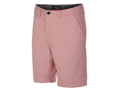 Pierre Cardin korte broeken | Trendy Chino shorts voor heren van 100% katoen Roze