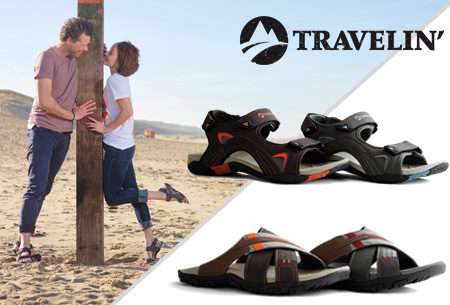 Travelin slippers & sandalen