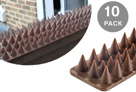 10-pack anti-klimstrips   Voorkom ongewenst bezoek in de tuin
