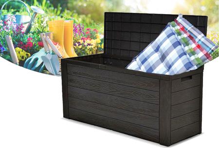 Opbergbox tuin 300 liter - nu in de aanbieding met korting