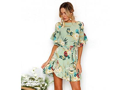 Swing dress | Fleurig, vrouwelijk & stijlvol