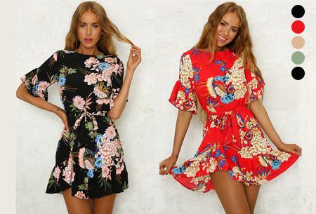 66% korting - Swing dress <br/>EUR 16.99 <br/> <a href='https://tc.tradetracker.net/?c=24550&m=1018105&a=230468&u=https%3A%2F%2Fwww.vouchervandaag.nl%2Fswing-dress-dames-jurk' target='_blank'>bekijk product</a>