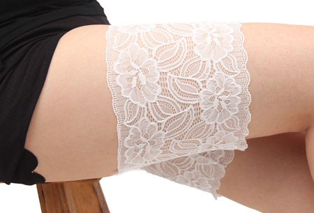 Kanten anti-schuur kousenband | Sexy en comfortabel