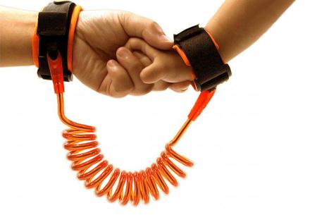 Kinder veiligheidsband | Je kind altijd veilig bij de hand Oranje