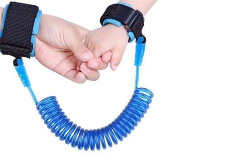 Kinder veiligheidsband | Je kind altijd veilig bij de hand Blauw