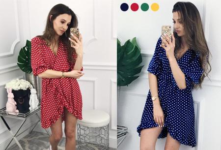 Dagaanbieding: 63% korting – Dots dress