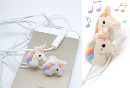 Unicorn in-ear oordopjes