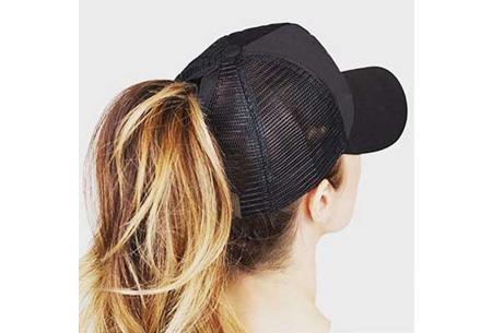 High ponytail pet | Trendy en super handig - Verkrijgbaar in 11 kleuren