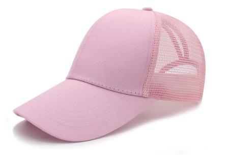 High ponytail pet | Trendy en super handig - Verkrijgbaar in 11 kleuren Roze