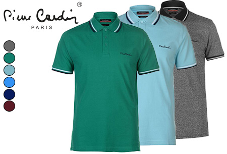 Dagaanbieding: Pierre Cardin heren polo's
